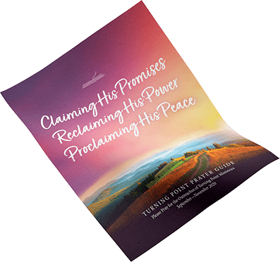 Turning Point's 2020 Prayer Guide