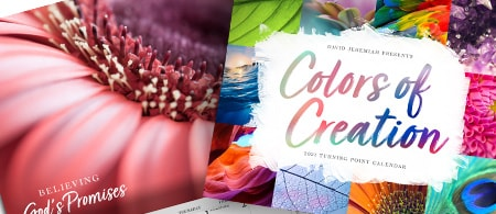 Turning Point's 2021 Wall Calendar - Colors of Creation