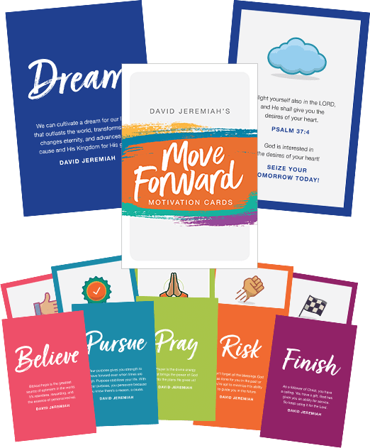 Move Forward Motivation Cards