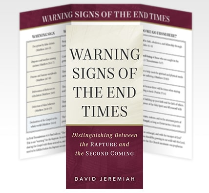 Bible Prophecy Chart: Warning Signs of the End Times