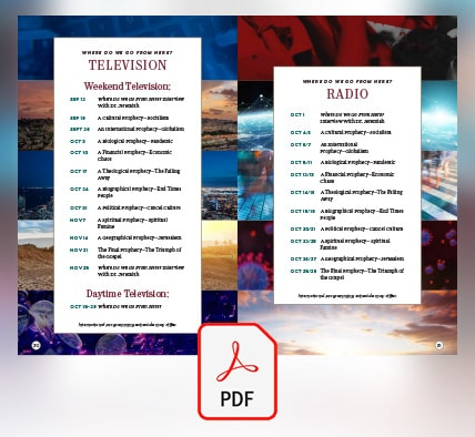 Complete Radio & Television Broadcast Schedule