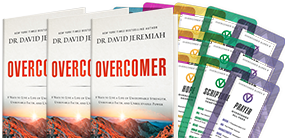 Support the ministry outreach with a $100 gift & receive the Overcomer 3-pack