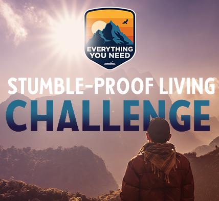 Beginning September 22: Stumble-Proof Living Online Challenge