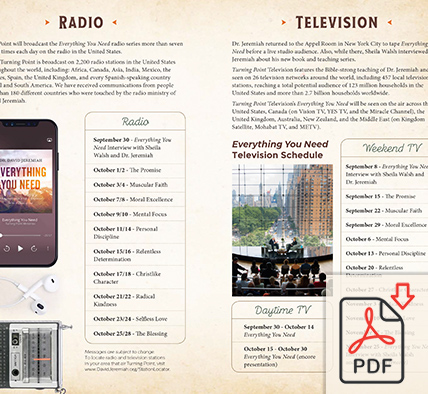 Complete Radio & Television Broadcast Schedule