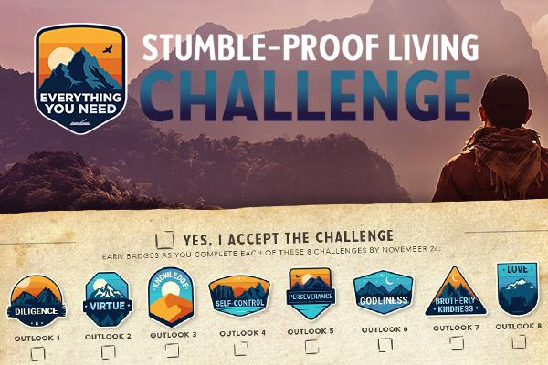Stumble-Proof Living Challenge