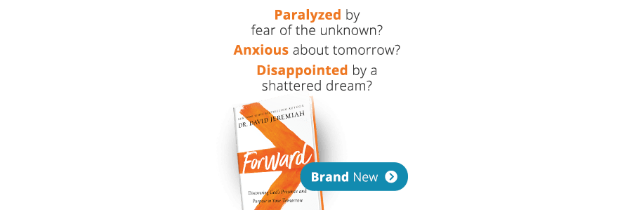 Paralyzed by fear of the unknown? Anxious about tomorrow? Disappointed by a shattered dream? FORWARD - Brand New