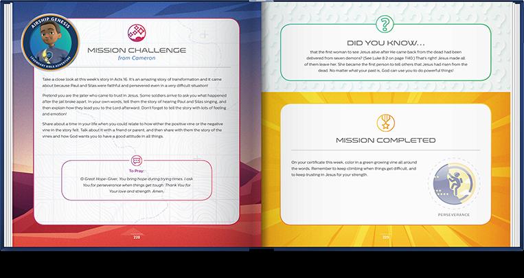 Mission Challenge (Activity/Application)