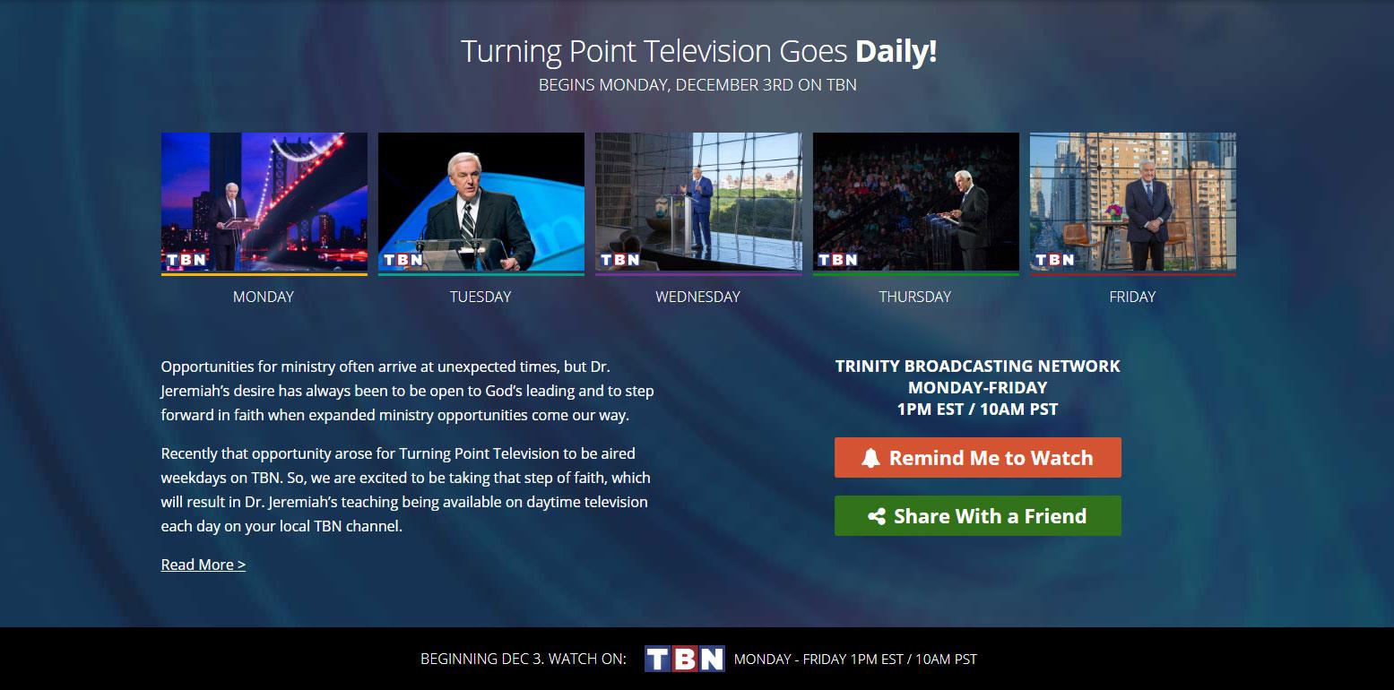 daytime television - davidjeremiah