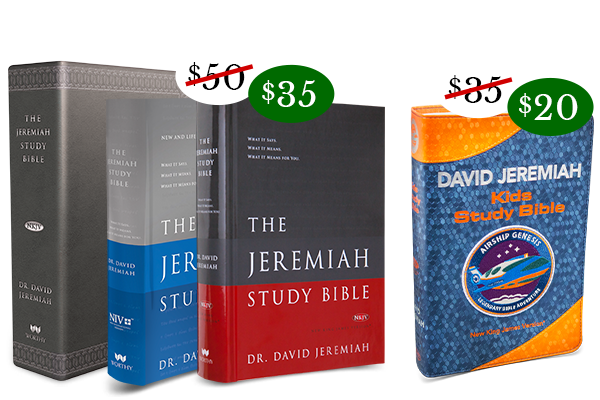 Special Christmas Sale! Bring God's Word Home for the Holidays