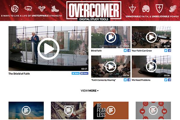 Explore the New Overcomer Website