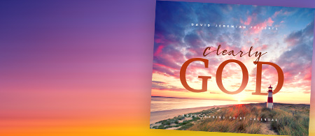Turning Point's exclusive 2020 calendar - Clearly... God