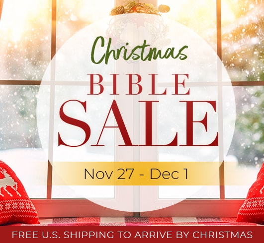 The Jeremiah Study Bible - Christmas Bible Sale