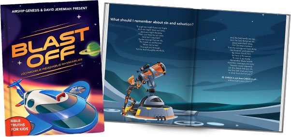 Blast Off! Incredible Readable Rhymables Book