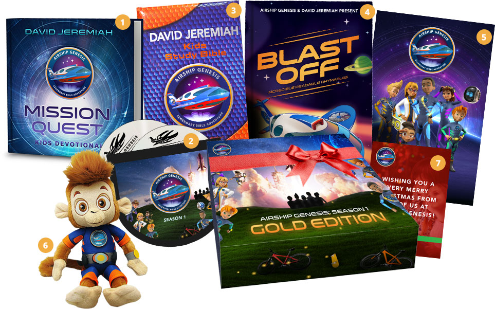 Airship Genesis Christmas Gold Edition Set
