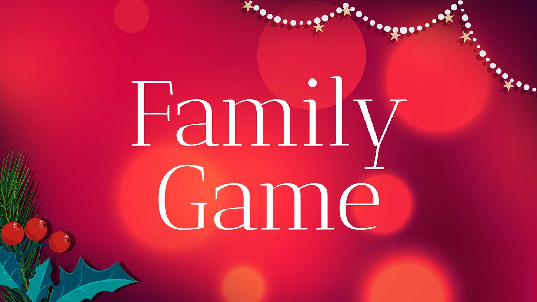 Merry Christmas Family Game