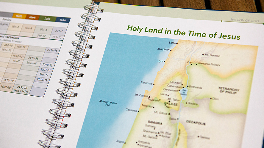 The Rose Chronological Guide to the Bible - Maps