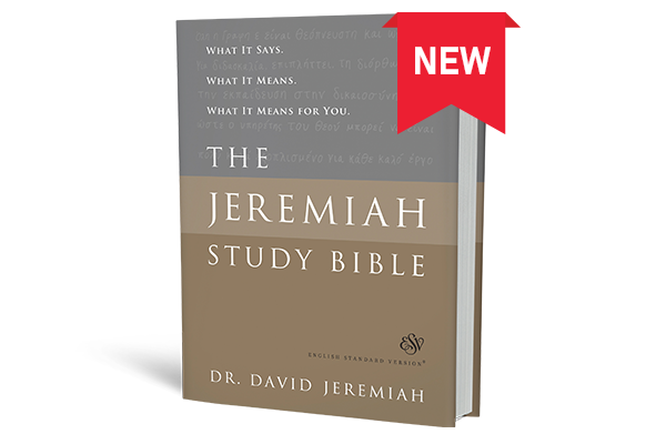The Jeremiah Study Bible - Now Available in ESV