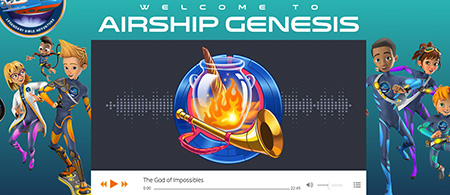 Hey kids! Join the squad on a Christmas adventure - Airship Genesis-Listen for free