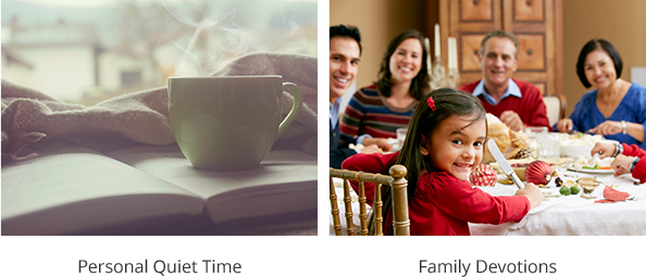 Personal Bible Study - Sunday School Class - Personal Quiet Time - Family Devotions