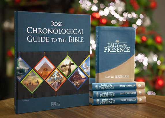 Daily In His Presence 4-pack and The Rose Chronological Guide to the Bible