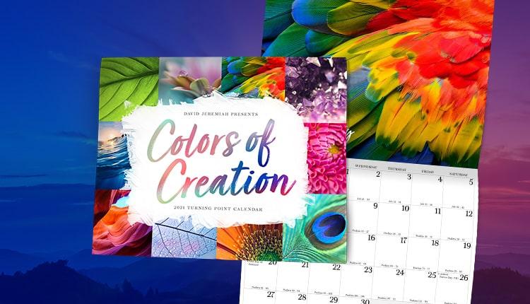Colors of Creation 2021 Calendar