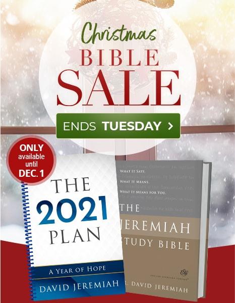 Christmas Bible Sale - Ends Tuesday