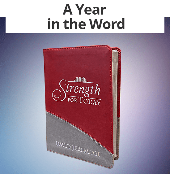 A Year in the Word - Strength for Today