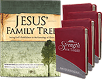 4-Pack of Strength for Today & Jesus' Family Tree Image