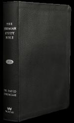 Jeremiah Study Bible NKJV - Genuine Leather: Black