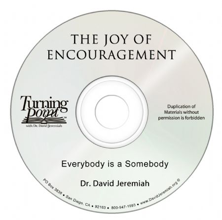 Everybody is a Somebody Image