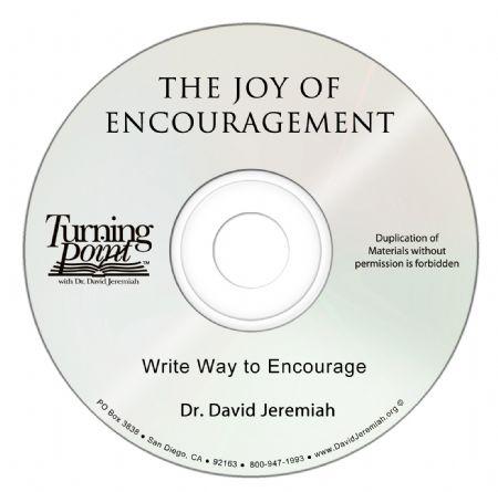 Write Way to Encourage Image