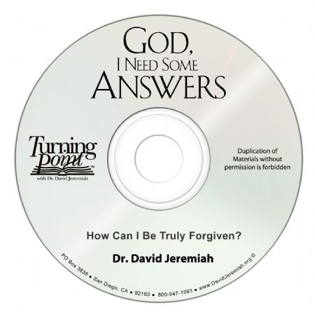 How Can I Be Truly Forgiven?  Image