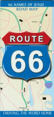 Route 66 Map 3: 66 Names of Jesus in the Bible Image