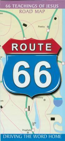 Route 66 Map 5: 66 Teachings of Jesus Image