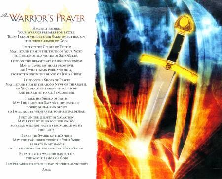 The Warrior's Prayer Image