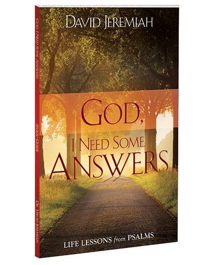 God, I Need Some Answers  Image