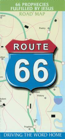 Route 66 Map 2- Bundle of 25 Image