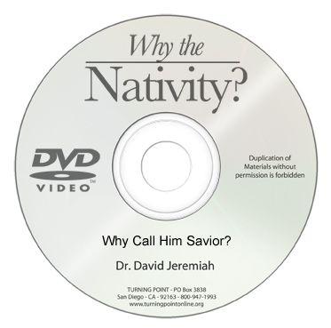 Why Call Him Savior? Image
