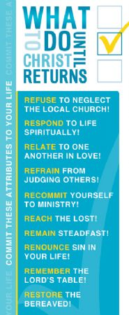 What to Do Until Christ Returns Image
