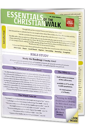Essentials of the Christian Walk Image