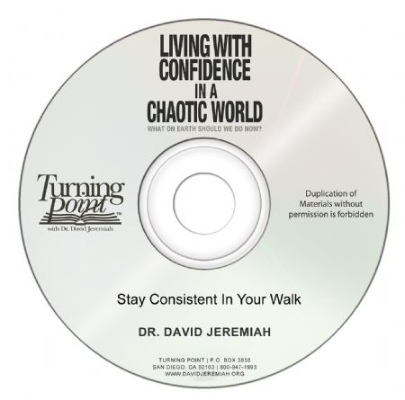 Stay Consistent In Your Walk  Image