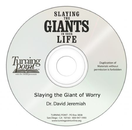 Slaying the Giant of Worry Image