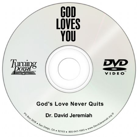 God's Love Never Quits Image