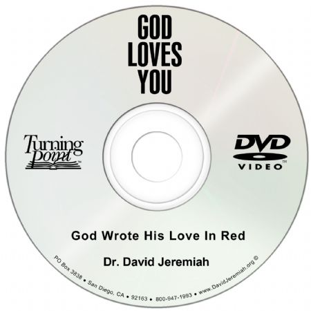 God Wrote His Love In Red Image