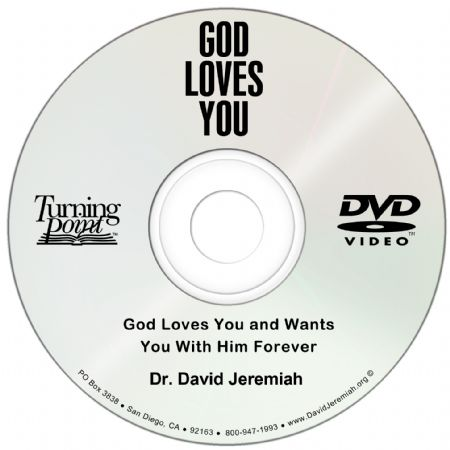 God Loves You and Wants You With Him Forever Image