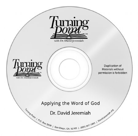 Applying the Word of God Image