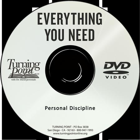 Personal Discipline  Image