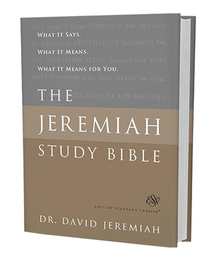 ESV Hardcover Jeremiah Study Bible