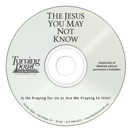 Is He Praying for Us or Are We Praying to Him? Image