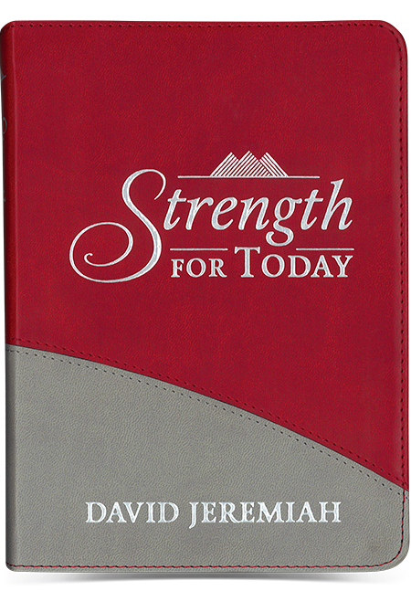 Strength For Today (leather devotional)